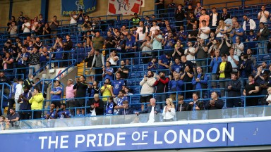 Chelsea are one of a number of Premier League clubs who have already installed safe standing areas