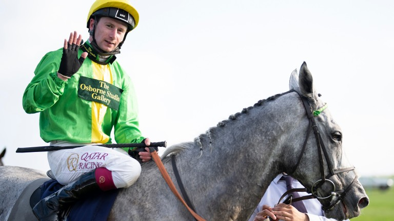 Joy and relief for Oisin Murphy after his Cesarewitch success on Buzz