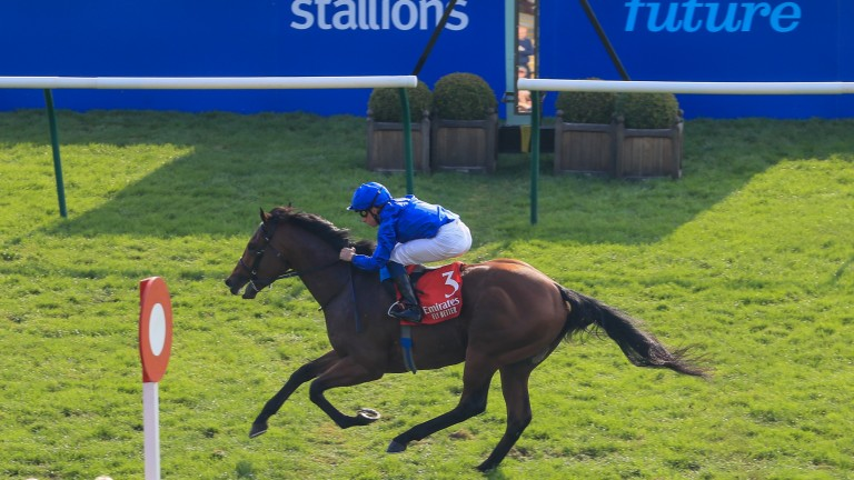Coroebus y William Buick lucen obvios en Autumn Stakes
