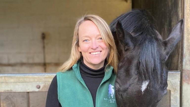 Jo Saunders: winner of the 2021 Dedication Award