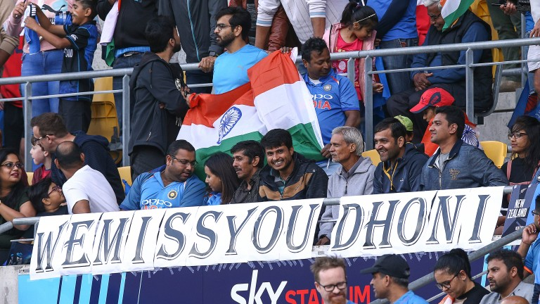 Bowlers around the world may not share the sentiment of these India fans
