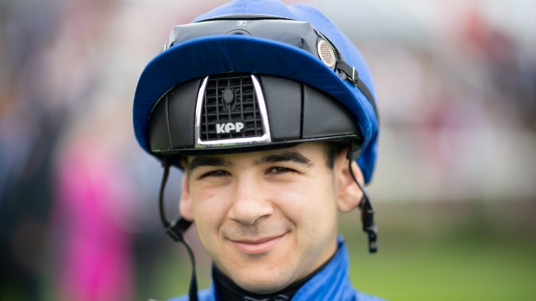 Marco Ghiani: rode his first winner at Royal Ascot this year