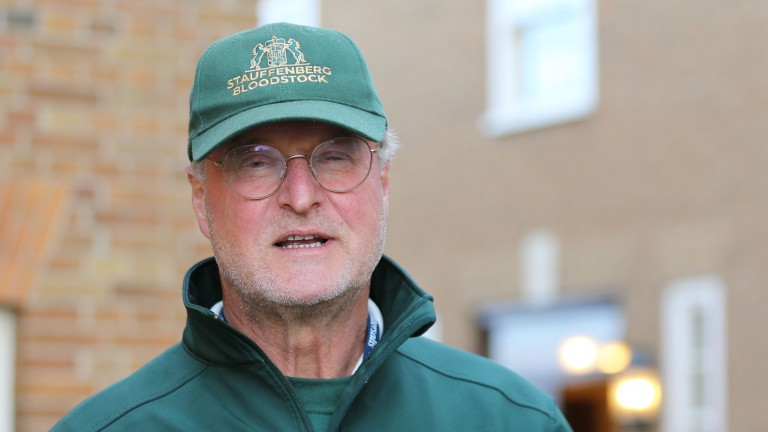 """Philipp Stauffenberg: """"Obviously when you sell a Frankel you're always thinking of big figures, but I'm happy with the result"""""""