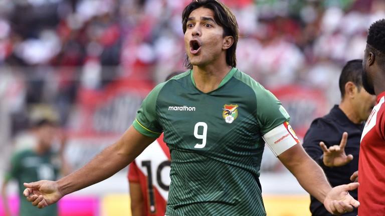 Bolivia's Marcelo Martins