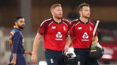 Jonny Bairstow and Jos Buttler starred in England's T20 series in India in March