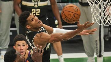 Giannis Antetokounmpo lead the Bucks to the NBA Championship last season