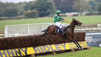 Hewick comes home in splendid isolation to win the Durham National