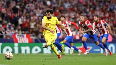 Mo Salah fires Liverpool to victory over Atletico Madrid