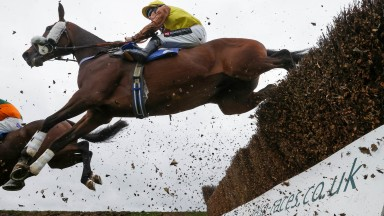EMPIRE DE MAULDE Ridden by Brian Hughes wins at Kelso 23/10/21Photograph by Grossick Racing Photography 0771 046 1723