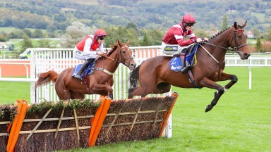 I Like To Move It: impressive winner in the four-year-old hurdle