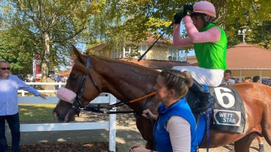 Sisfahan returns to the enclosures after finishing second to future Arc hero Torquator Tasso in the G1 Grosser Preis von Baden