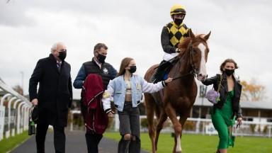 Raise You: won the Amateur Derby at the Curragh